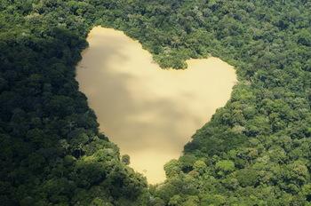 【ハート型地形08】ブラジルのアマゾンのジャングルにあるハート型の池[1].jpg