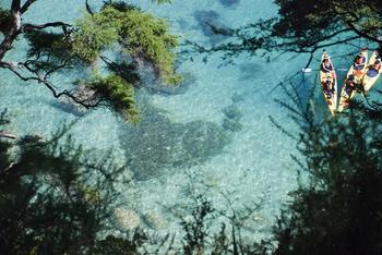 【ハート型地形30】ニュージーランドのアベル・タスマンにある岩礁7[1].jpg