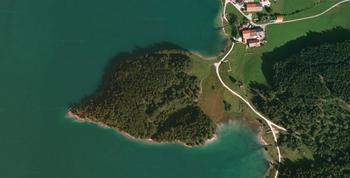 【ハート型地形48】ドイツのWalchensee にあるハート型の地形1].jpg