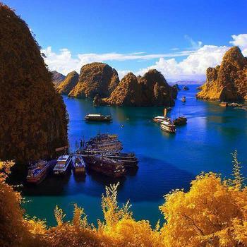 【ベトナム】ハロン湾。tD4.jpg
