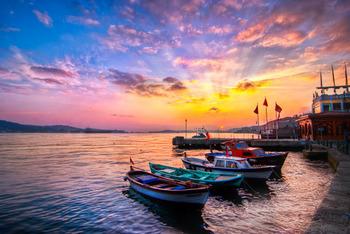 夕陽の港.jpg